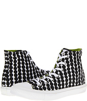 Marimekko/Chuck Taylor collab via Zappos.com.  Hits the black and white trend!